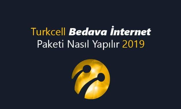 Turkcell Bedava İnternet Paketi Nasıl Yapılır 2019