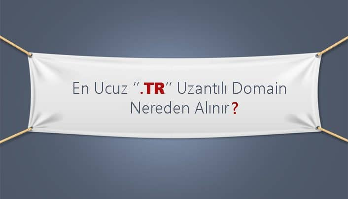 En Ucuz TR Uzantılı Domain Nereden Alınır