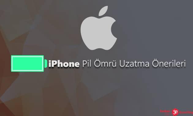 iPhone Pil Ömrü Uzatma Önerileri